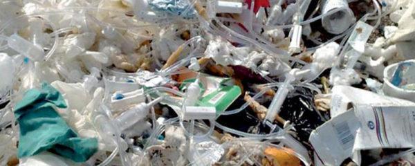 Collecte de déchets médicaux